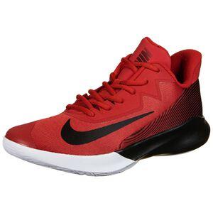 Precision IV Basketballschuh Herren, rot / schwarz, zoom bei OUTFITTER Online