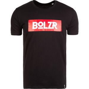 T-Shirt Herren, schwarz / rot / weiß, zoom bei OUTFITTER Online