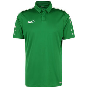 Polo Striker 2.0 Poloshirt Herren, grün / weiß, zoom bei OUTFITTER Online