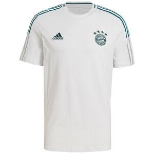 FC Bayern München T-Shirt Herren, hellgrau / dunkelgrün, zoom bei OUTFITTER Online