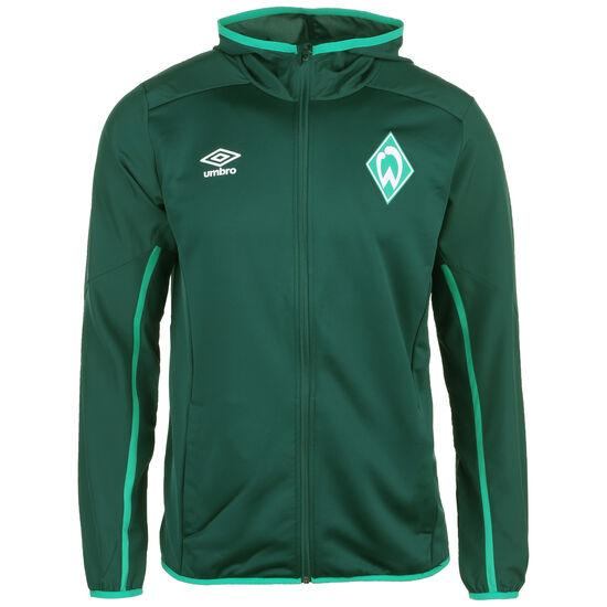 SV Werder Bremen Kapuzenjacke Herren, dunkelgrün / grün, zoom bei OUTFITTER Online