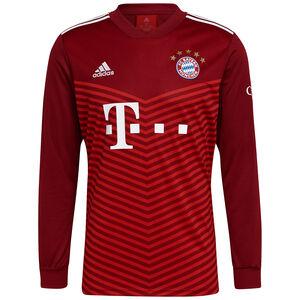 FC Bayern München Trikot Home 2021/2022 Herren, rot / weiß, zoom bei OUTFITTER Online