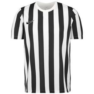 Striped Division IV Fußballtrikot Herren, weiß / schwarz, zoom bei OUTFITTER Online