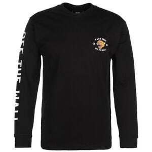 Growler Sweatshirt Herren, schwarz / dunkelgelb, zoom bei OUTFITTER Online