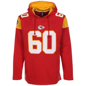 NFL Kansas City Chiefs Iconic Franchise Kapuzenpullover Herren, rot / orange, zoom bei OUTFITTER Online