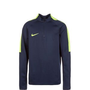 Dry Squad 17 Drill Trainingsshirt Kinder, dunkelblau / weiß, zoom bei OUTFITTER Online