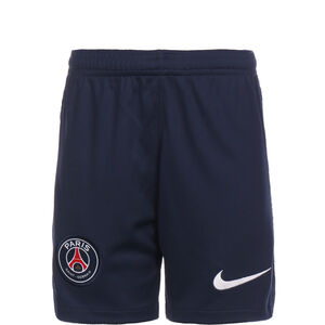 Paris St.-Germain Short Home Stadium 2020/2021 Kinder, dunkelblau / weiß, zoom bei OUTFITTER Online