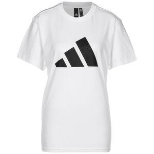 Future Icon Logo T-Shirt Damen, weiß / schwarz, zoom bei OUTFITTER Online