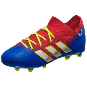 pretty nice c9e12 c9c58 Nemeziz Messi 18.1 FG Fußballschuh Kinder, rot   blau, zoom bei OUTFITTER  Online. Neu. adidas Performance