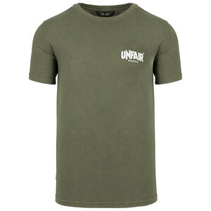 Classic Label Taped T-Shirt Herren, oliv / schwarz, zoom bei OUTFITTER Online