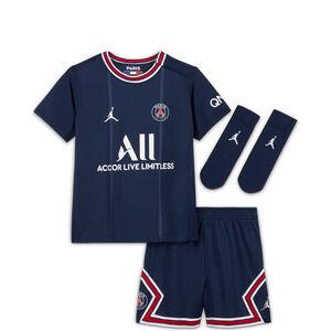 Paris St.-Germain Minikit Home 2021/2022 Babys, dunkelblau / rot, zoom bei OUTFITTER Online