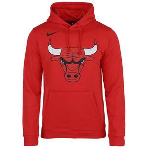 Chicago Bulls Club Logo Kapuzenpullover Herren, rot, zoom bei OUTFITTER Online