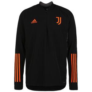 Juventus Turin Trainingspullover Herren, schwarz / orange, zoom bei OUTFITTER Online