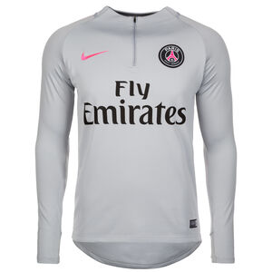 Paris St.-Germain Dry Squad Drill Trainingsshirt Herren, Grau, zoom bei OUTFITTER Online