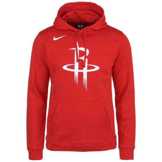 Houston Rockets Club Logo Kapuzenpullover Herren, rot, zoom bei OUTFITTER Online