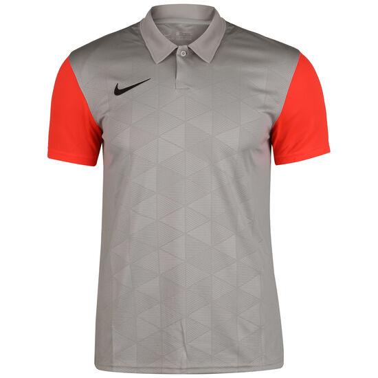 Trophy IV Jersey Fußballtrikot Herren, grau / rot, zoom bei OUTFITTER Online