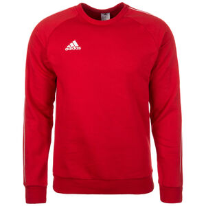 Core 18 Sweatshirt Herren, rot / weiß, zoom bei OUTFITTER Online