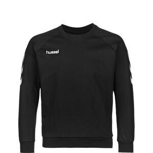 Hmlgo Cotton Sweatshirt Kinder, schwarz / weiß, zoom bei OUTFITTER Online