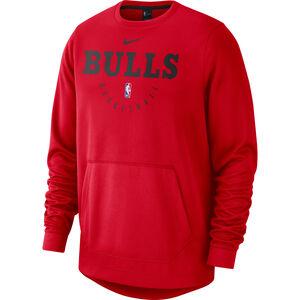 NBA Chicago Bulls Spotlight Longsleeve Herren, schwarz / rot, zoom bei OUTFITTER Online