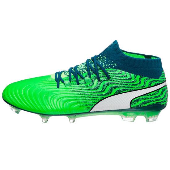 Puma ONE 18.1 FG Fußballschuh Herren, Grün, zoom bei OUTFITTER Online