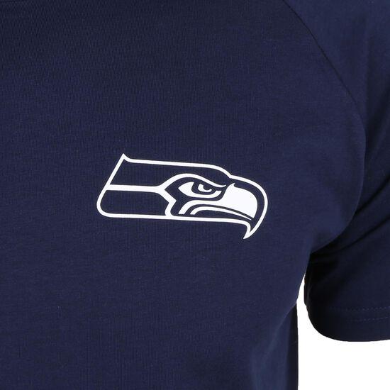 NFL Seattle Seahawks Shoulder Print T-Shirt Herren, dunkelblau, zoom bei OUTFITTER Online