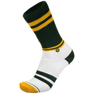 NFL Green Bay Packers Logo Socken, grün / weiß, zoom bei OUTFITTER Online