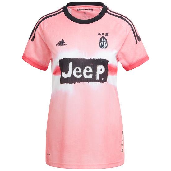 Juventus Turin Human Race FC Trikot Damen, rosa / schwarz, zoom bei OUTFITTER Online