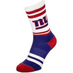 NFL New York Giants Logo Socken, rot / dunkelblau, zoom bei OUTFITTER Online