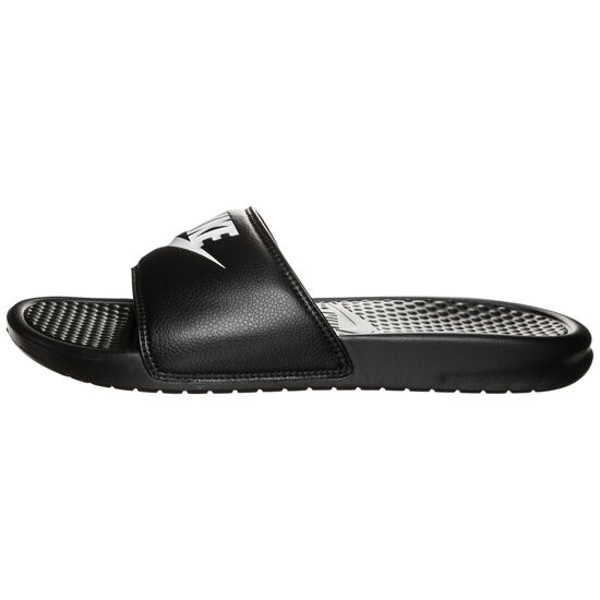 Benassi Just Do It Badesandale Herren, Schwarz, zoom bei OUTFITTER Online