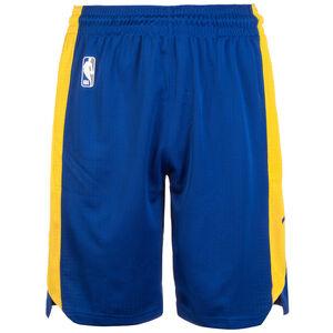 Golden State Warriors NBA Basketballshort Herren, blau / gelb, zoom bei OUTFITTER Online