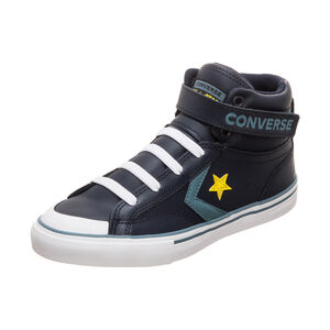 Pro Blaze Strap High Sneaker Kinder, dunkelblau / gelb, zoom bei OUTFITTER Online