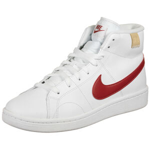 Court Royale 2 Mid Sneaker Herren, weiß / rot, zoom bei OUTFITTER Online
