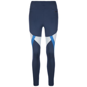 ClimaLite Colorblock Trainingstight Damen, dunkelblau / blau, zoom bei OUTFITTER Online
