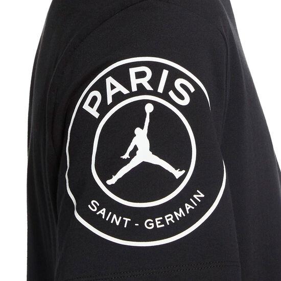 Paris St.-Germain Logo T-Shirt Herren, schwarz, zoom bei OUTFITTER Online