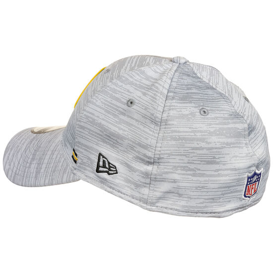 39THIRTY NFL Pittsburgh Steelers On-Field Sideline Road Cap, grau / gelb, zoom bei OUTFITTER Online