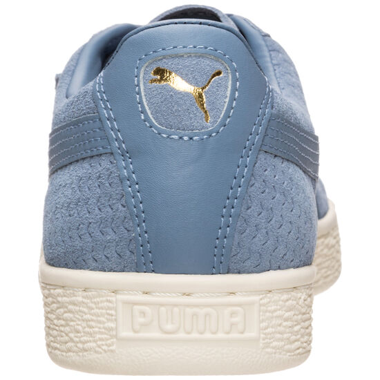Suede Classic Perforation Sneaker Herren, Blau, zoom bei OUTFITTER Online