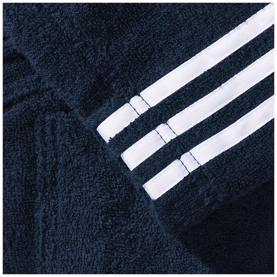 3-Stripes Frottee Bademantel Herren, Blau, zoom bei OUTFITTER Online