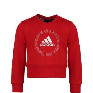 Bold Crew Sweatshirt Kinder, rot / weiß, zoom bei OUTFITTER Online