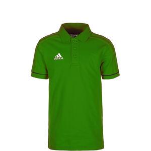 Tiro 17 Poloshirt Kinder, grün / schwarz / weiß, zoom bei OUTFITTER Online