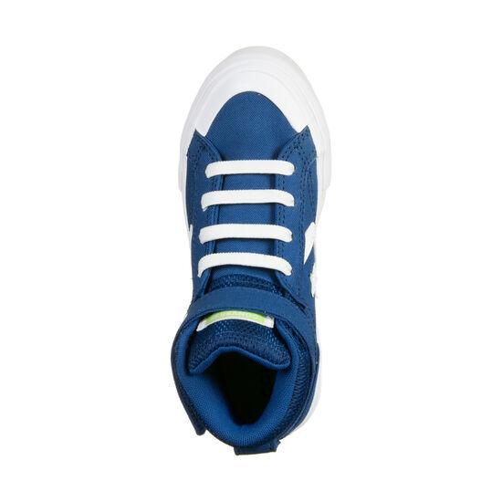Pro Blaze Strap High Sneaker Kinder, blau / weiß, zoom bei OUTFITTER Online
