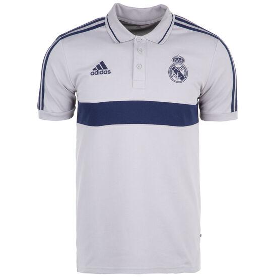 Real Madrid Poloshirt Herren, hellgrau / blau, zoom bei OUTFITTER Online