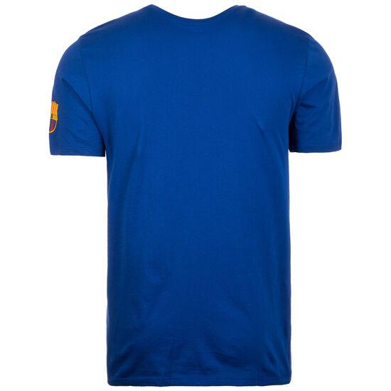 FC Barcelona Large Swoosh T-Shirt Herren, blau / rot, zoom bei OUTFITTER Online