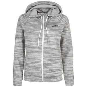 Expressive Sweatjacke Damen, grau / weiß, zoom bei OUTFITTER Online