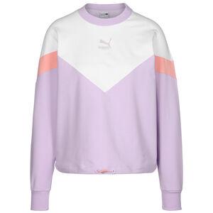 Iconic MSC Cropped Sweatshirt Damen, flieder / weiß, zoom bei OUTFITTER Online