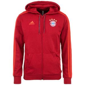 FC Bayern München Kapuzenjacke Herren, dunkelrot, zoom bei OUTFITTER Online
