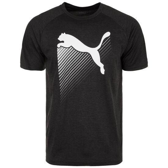 The CAT Heather Trainingsshirt Herren, schwarz, zoom bei OUTFITTER Online