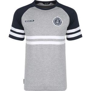 DMWU T-Shirt Herren, grau / dunkelblau, zoom bei OUTFITTER Online