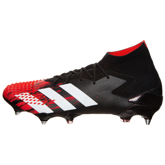 Predator 20.1 SG Fußballschuh Herren, schwarz / rot, zoom bei OUTFITTER Online