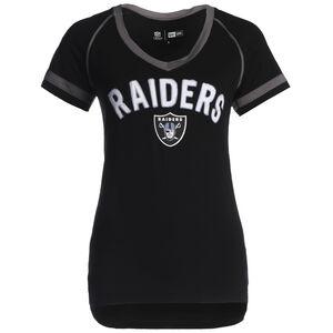NFL Properties Oakland Raiders T-Shirt Damen, schwarz / silber, zoom bei OUTFITTER Online