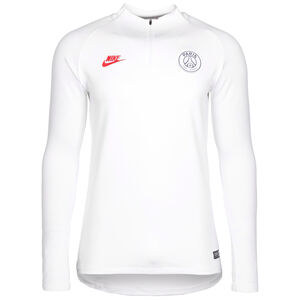 Paris St.-Germain Dry Strike Drill Trainingsshirt Herren, weiß, zoom bei OUTFITTER Online
